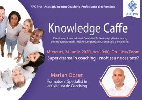 Knowledge Caffe 2020 – Editia 2 – Supervizarea in coaching