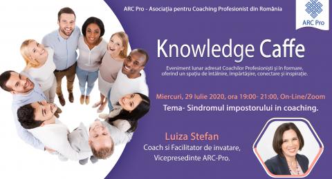 Knowledge Caffe 2020 – Editia 3 – Sindromul impostorului in coaching