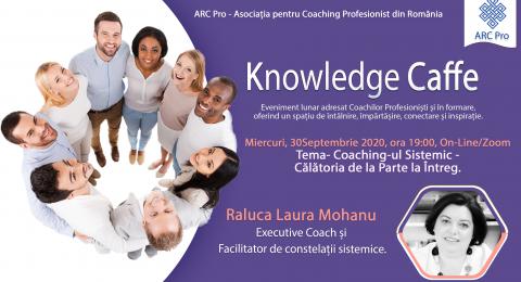Knowledge Caffe 2020 – Editia 5 – Coaching-ul Sistemic – Călătoria de la Parte la Întreg