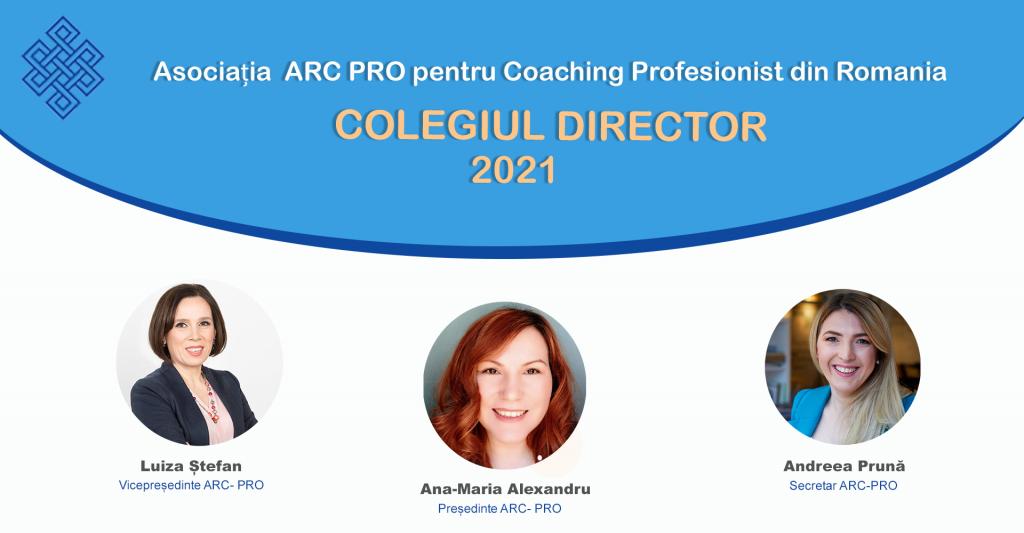 COLEGIUL DIRECTOR- ARC 2021