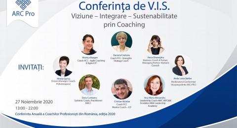 Și în 2021 poți primi valoare de la ARC-PRO: accesează on-line sesiunile de la Conferința de VIS.
